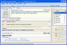 English Vocabulary Builder - TOEFL