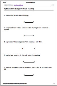 Vocabulary Building Worksheets High On Worksheet Hate Works together with  moreover free high vocabulary worksheets – pachislot likewise vocabulary worksheets – hieudt info also High Math Vocabulary Worksheets Download Them And Try To furthermore High Spelling Words also Lessonn Team Buildingns Vocabulary Worksheets High The Best I besides Vocabulary Worksheets Development High Pdf also High Spelling Words further Collection Of Free Vocabulary Building Worksheets High Ready additionally Free High Vocabulary Worksheets Worksheets Free Vocabulary likewise High Vocabulary Worksheets Geometry Grade W Secondary For Pdf likewise  moreover free high vocabulary worksheets – newstalk info besides first grade english worksheets spelling in addition High Vocabulary Words Worksheets Free Printable. on vocabulary building worksheets high