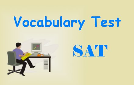 SAT Test for Vocabulary