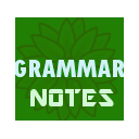 English Grammar Note