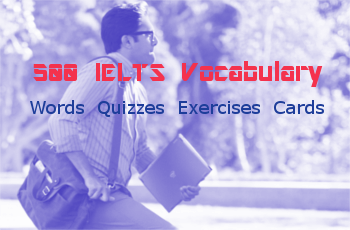 500 IELTS Vocabulary