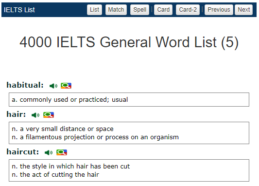 IELTS Vocabulary: Academic Words and Practice