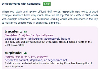 Sat vocabulary list 3000 words and practice difficult words with meaning and sentence ibookread PDF